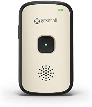 GreatCall Splash Waterproof One-Touch Mobile Medical Alert Device - Desert Silver