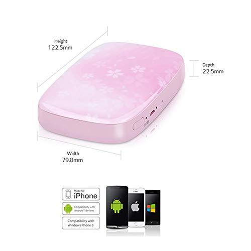 SFXYJ Mobile Phone Photo Printer Mini Portable Pocket Color Wireless Home Small Photo Print,B by SFXYJ (Image #2)