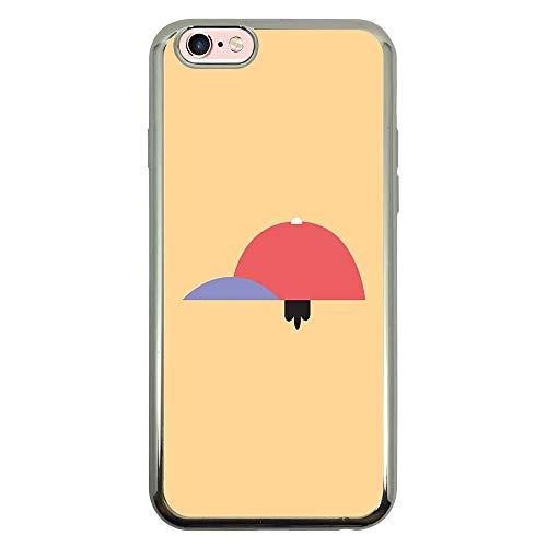 Capa Intelimix Intelislim Prata Apple iPhone 6 6s Games - GA56