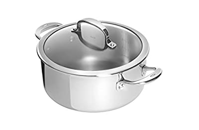 OXO Good Grips Tri-Ply Stainless Steel Pro 5Qt Covered Dutch Oven