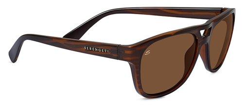 Serengeti Classic Coll. Tommaso Sunglasses Frame 7958 Shiny Taupe Tortoise New