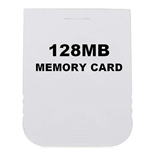 Practical Memory Card for Wii Gamecube Game 4MB~512MB 8192 Blocks Memorial Stick Color:White 128MB by NiceHyacinth