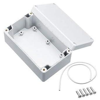 CCChaRLes Proyecto Electrónico Caja Caja Caja Caso Proyecto Diy Box Caja De Conexiones Con Tornillos - 1#: Amazon.es: Industria, empresas y ciencia