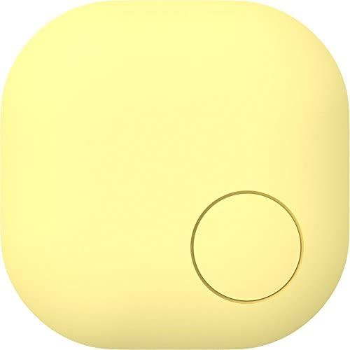 Nut Color – Anti-Loss Bluetooth Tag,Key Finder,Phone Finder,Easy Find Never Forget.Yellow.