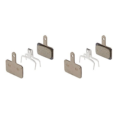 Price comparison product image 2 Pairs Shimano Disc Brake Pads & Spring B01S (Resin)