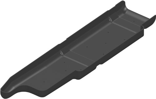 TITAN Fuel Tanks 29904 Skid Plate for Fuel Tank (Body Fuel Tank)