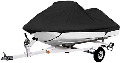 Sea Doo Yamaha North East Harbor Black Trailerable PWC Personal Watercraft Cover Covers Fits 2-3 Seat Or 139-145 Length for Waverunner Kawasaki Covers Polaris Jet Ski