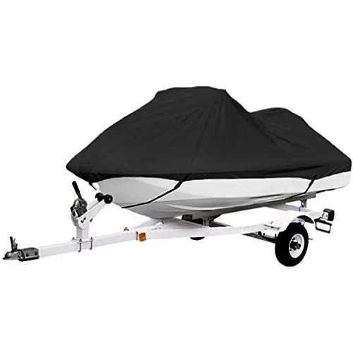 Pwc Personal Watercraft - North East Harbor Black Trailerable PWC Personal Watercraft Cover Covers Fits 2-3 Seat Or 127