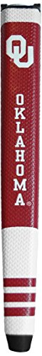 Team Golf NCAA Oklahoma Sooners Golf Putter Grip with Removable Gel Top Ball Marker, Durable Wide Grip & Easy to -