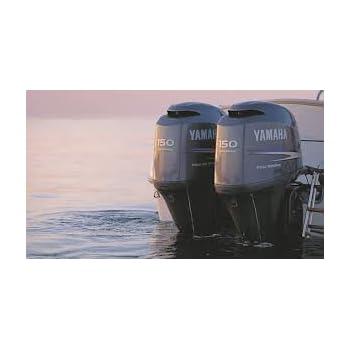Amazon com: Yamaha 4 stroke Outboard Motor Service Manual