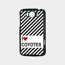Love Heart Coyotes HTC G21 Case - Fits HTC G21