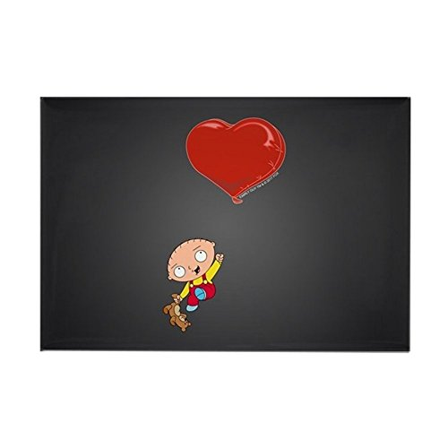 CafePress Family Guy Heart Rectangle Magnet, 2