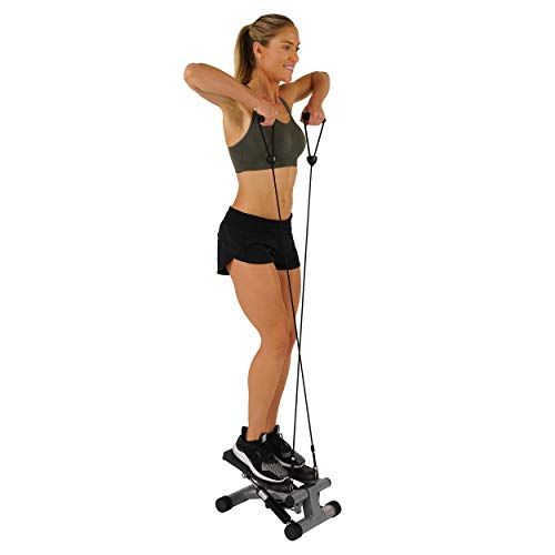 Sunny Health & Fitness Mini Stepper with Resistance Bands by Sunny Health & Fitness (Image #8)