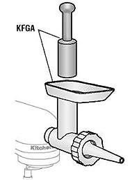 Bargain Alfa Intl. KitchenAid Food Grinder Attachment includes two plates - KFGA cheapest