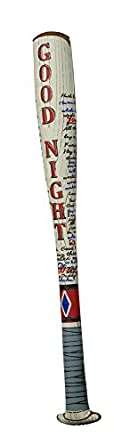 Rubie's Unisex-Adult's Dc Comics Suicide Squad Inflatable Harley Quinn's Bat, Multi, One Size