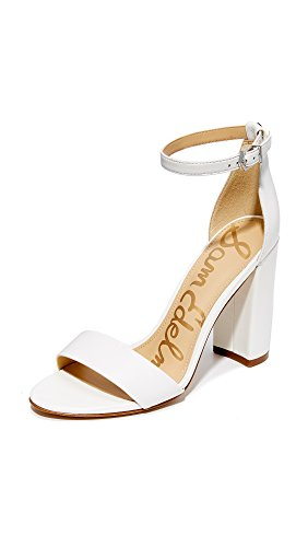 Sam Edelman Women's Yaro Sandals, Bright White, 9.5 B(M) US
