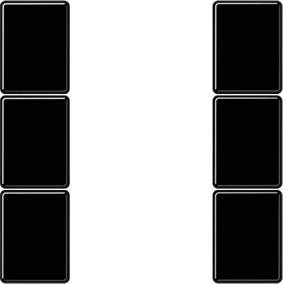 Jung A503TSASW Complete Key Panel Cover for 3-Channel Push Button Intercom Module