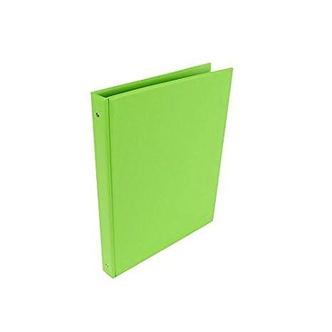 Carpeta Archivador SARO PVC Verde, Folio 4 Anillas 25 mm.: Amazon.es: Oficina y papelería