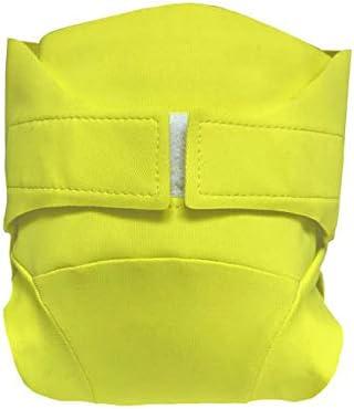 Microfibre XS 2-4 kg Kit dessai couche classique Green Banana