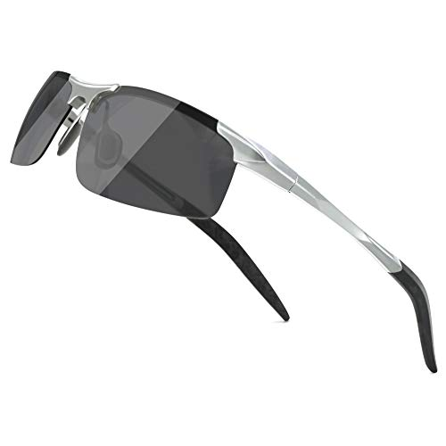screw detail metal sunglasses - 8