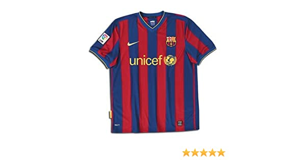 5bade2581 Amazon.com   Nike Barcelona 09 10 Home Soccer Jersey   Athletic Jerseys    Sports   Outdoors