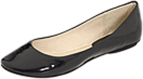 - Kenneth Cole REACTION Women's Slip On By Ballet Flat,Black Patent,7.5 M US