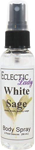 (White Sage Body Spray, 2 ounces )