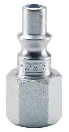 Coupler Plug, Steel, FNPT, 1/4 In. Pipe