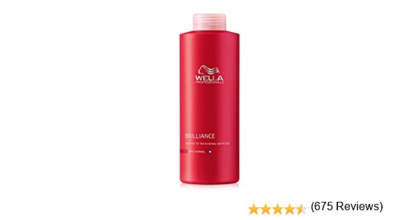 Wella Color Fino Champú - 1000 ml: Amazon.es