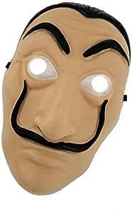 Dali Mask Money Heist The House of Paper La Casa De Papel Mask for Men Women Salvador Dali Mask Halloween Carnival Christmas