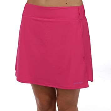 Head - Falda pádel atom skort, talla s, color fucsia: Amazon.es ...