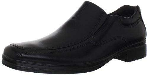 Sheepskin Hush Puppies - Hush Puppies Men's Quatro BK Slip-On Loafer, Black, 12 M US
