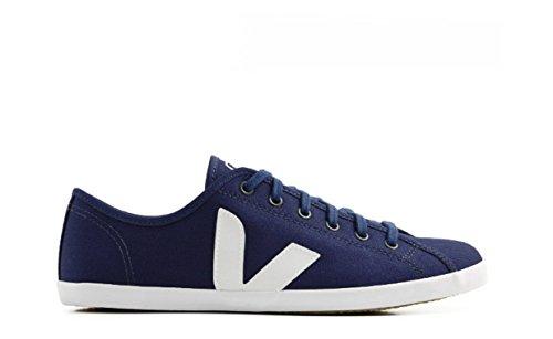 VEJA Taua True Azul White - TA1189 - Tennis Toile Mixte - Bleu et Blanche