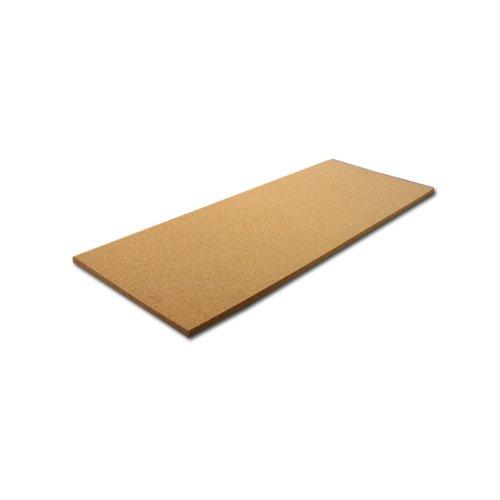 """Cork Sheet: 12"""" Wide X 36"""" Long X 1"""" Thick, Single Sheet"""