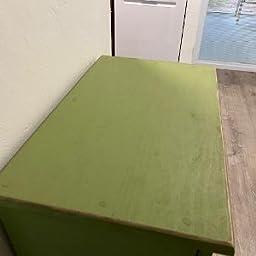 Amazon Com Sawdust City Tilt Out Wooden Trash Bin Holder Old Slate Home Kitchen