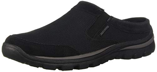 Skechers Mens Clogs - Skechers Men's Superior- ROLSEN Clog, Black, 11 Medium US