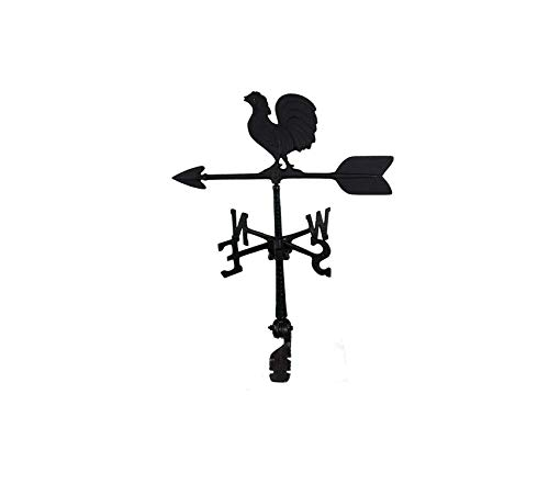Mоntаguе Mеtаl Prоducts Premium 24-Inch Weathervane with Rooster Ornament