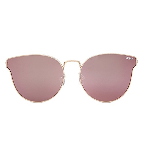 Quay Australia ALL MY LOVE Women's Sunglasses Classic Cat Eye - - Sunglasses Quay