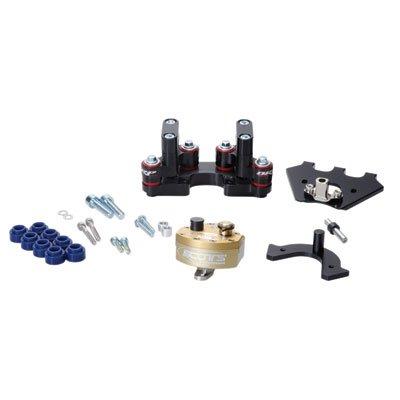 (Scotts Performance SUB Mount Complete Stabilizer Kit Rubber Type for KTM 690 ENDURO 2011-2018)