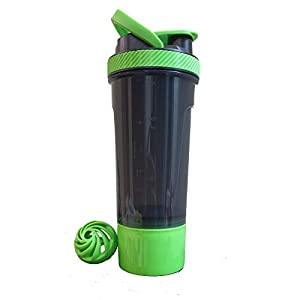 GHC Shaker Bottle Extra Storage Box (700 ml) | Gym Shaker for Protein Shakes