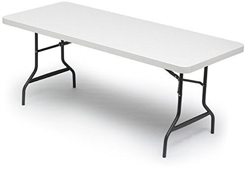 "IndestrucTable Too Rectangular Folding Table Size: 29"" H x 7"