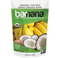 Barnana - Organic Chewy Coconut Banana Bites (12-3.5 oz bags) - Sweet Chewy Banana Bite