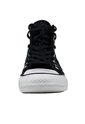 All Trainers Chuck Converse Sequin Taylor Midnight Textile Hi Black Star Indigo pTqqOx