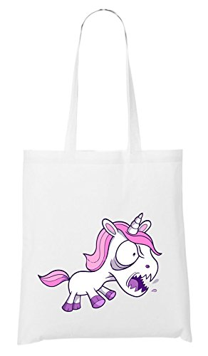 Yelling Unicorn Bag White Certified Freak