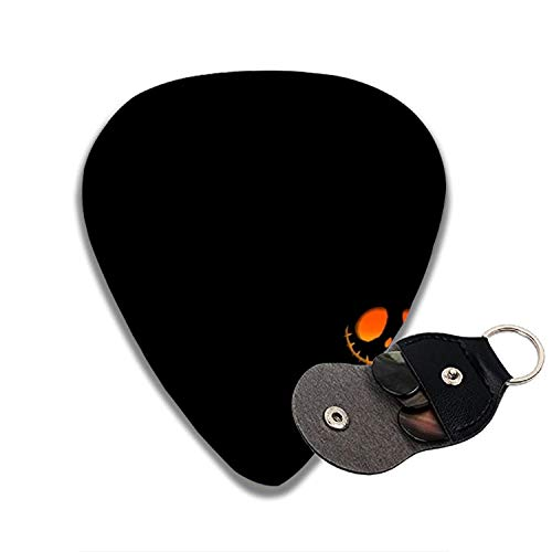 Halloween Pumpkin 3D Color Printed Guitar and Bass Pick Gift Brass for $<!--$7.50-->