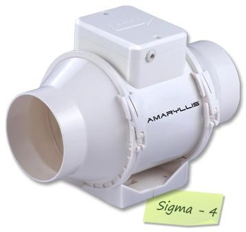 amaryllis inline fans 4 inch sigma