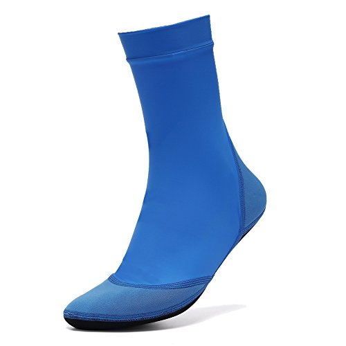CIOR Lycra Beach Socks For Sand,Lake,Swimming Playing Volleyball,Soccer Activities - Kids, Women and (Youth High Top)