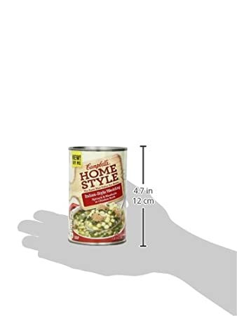Amazon.com : Campbells Homestyle Soup, Italian-Style Wedding, 18.4 Ounce (Pack of 12) : Packaged Chicken Soups : Grocery & Gourmet Food