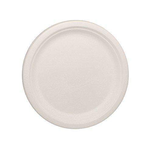 Lollicup KE-BPR09-1C Karat Earth Bagasse Plate, Round, 9