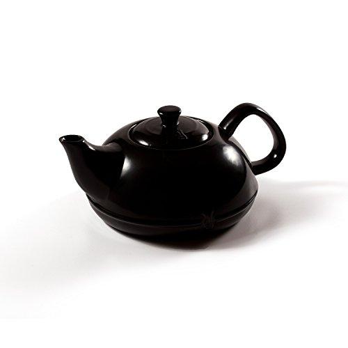 Xtrema 10 Cup  100% Ceramic Asiana Black Tea Pot with Colore